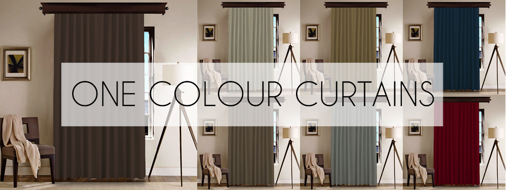 One Color Curtains