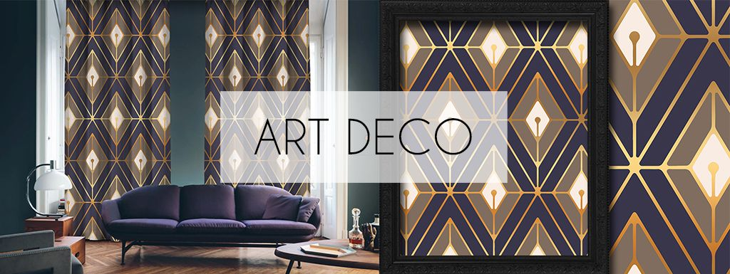 Art Deco Curtains