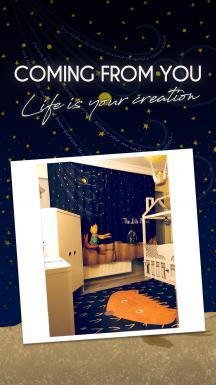 Cipcici Theatre Little Prince 2 Panel Curtain