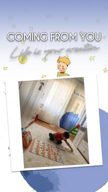 Little Prince One Piece Curtain Model 2
