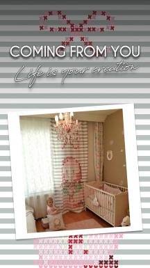 Matroyoshka Pattern Single Piece Curtain