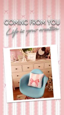 Romantic Lace Pattern Single Piece Curtain