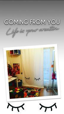 Sleepy White Curtain By İmren Gürsoy