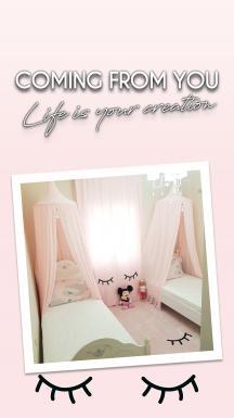 Sleepy Pink Curtain By İmren Gürsoy