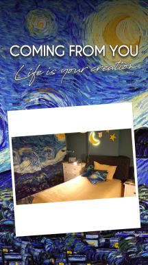 Vincent Van Gogh - Starry Night 3