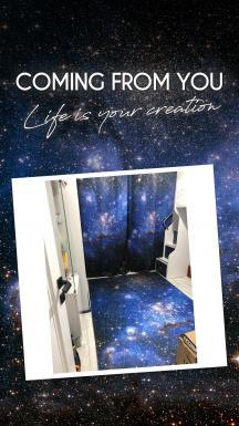 K-Pax Space Curtain & Carpet