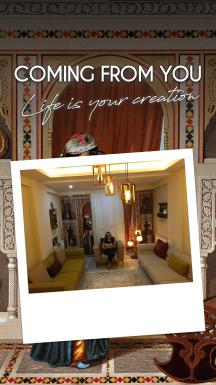 The House Of Sidi Yusuf Adami Nurse's Room 2 Pieces Curtain SET