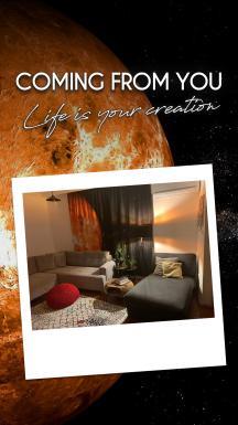 Venus Atmosphere 2 Piece Panel Curtain