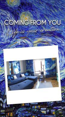 Vincent Van Gogh - Starry Night 3 Pieces Set
