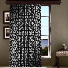 Zebra Desenli Perde Tek Kanat Fon Perde
