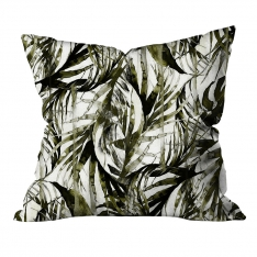 Tropical Thin Leaves Cushion