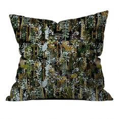 Botanic and Tropical Leaves Cushion