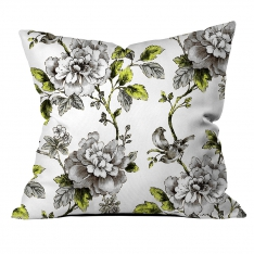 Tropical Flowers Cushion