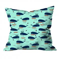 Whales Cushion