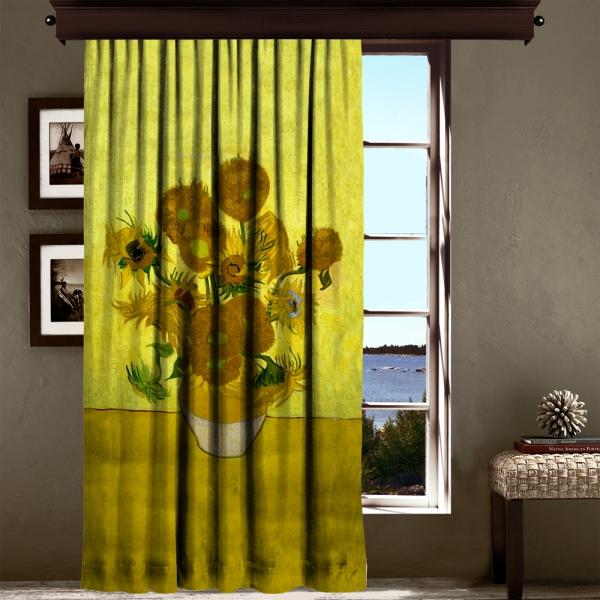 Vincent Van Gogh - Ayçiçekleri 220 CM