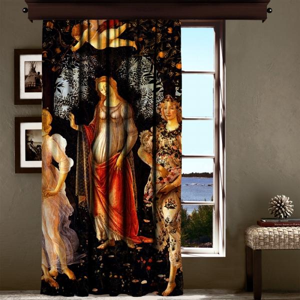 Sandro Botticelli - İlkbahar Panel 3 200 CM