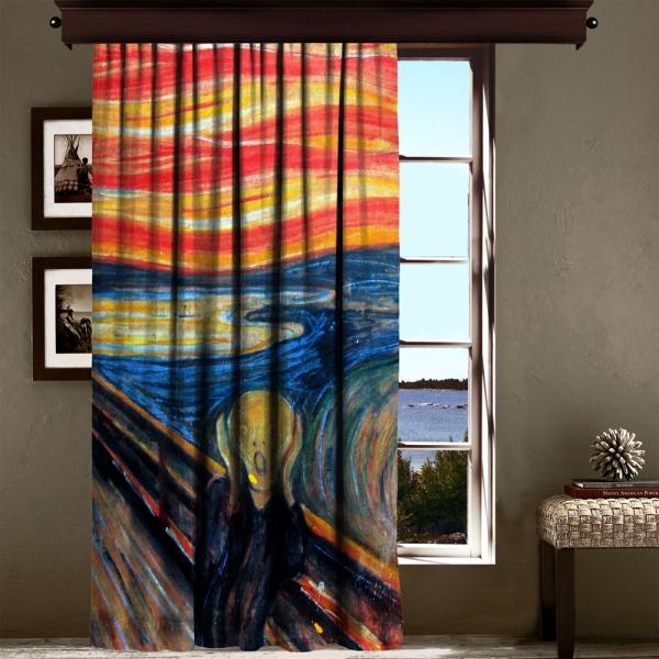 Edvard Munch - Çığlık 260 CM