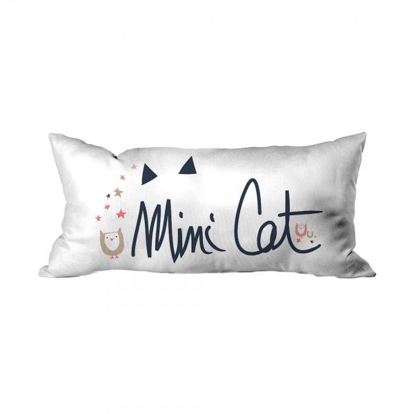 Minik Kedi Yazılı Çocuk Kırlent