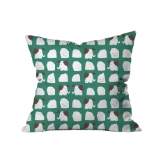 ''Hello Rock'' Elephants Kids Cushion