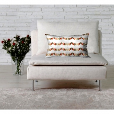 New Year Lights Theme Cushion