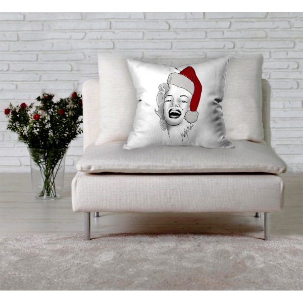 Marilyn Monroe  Noel Baba Kırlent