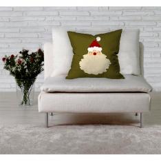 Tombik Noel Baba İllüstrasyon Kırlent