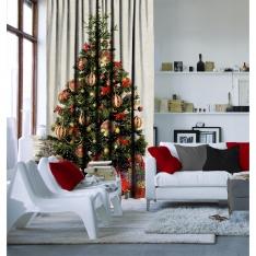 Chirstmas Tree Curtain