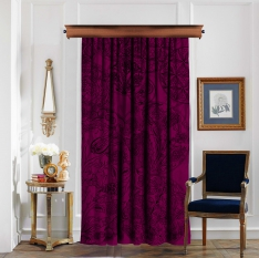 Ottoman Tile Arts Purple-Pink Pieces Curtain