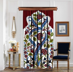 Tile Patttern Curtain