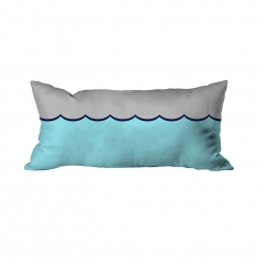 Ocean Waves Theme Cushion