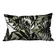 Tropical Leaves Theme Cushion