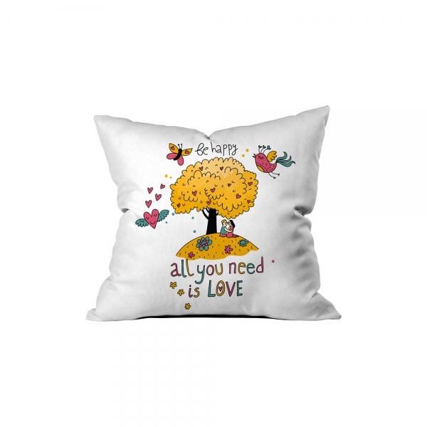 ''All You Need is Love'' Pillow