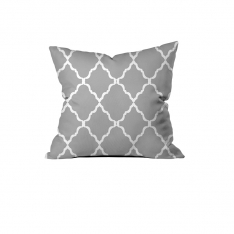 Charming Grey Cushion