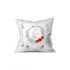 ''I love You'' Coronet Pillow Sev.G