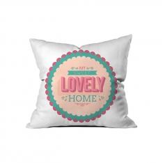 ''Lovely Home'' Kırlent Sev.G