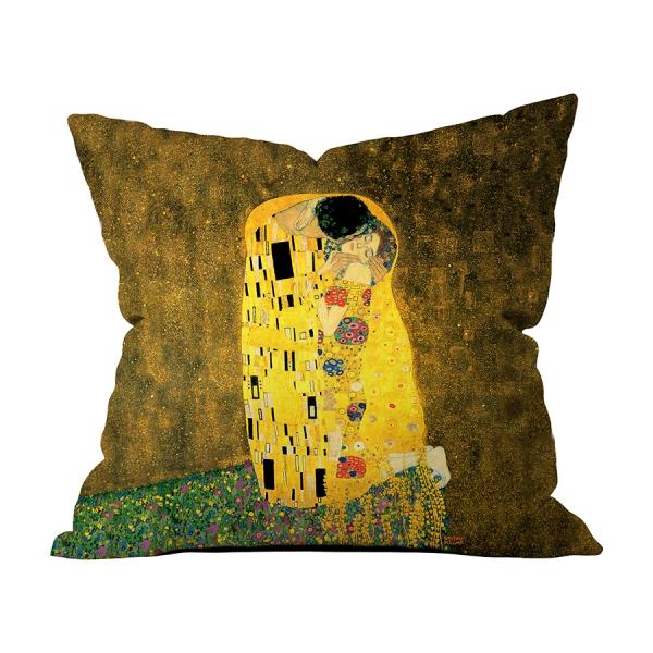 Gustav Klimt - Öpücük Kırlent