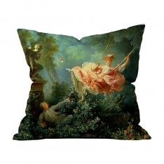 Jean Honore Fragonard - Salıncak Kırlent