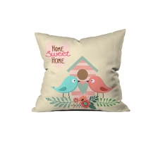 Romantic Birds Cushion