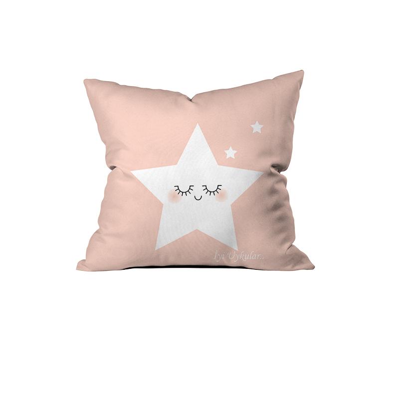 Sevimli Yıldız, İyi Uykular Kırlent (Pembe)-2.jpg