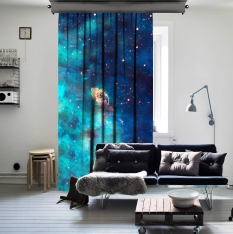Cloud Atlas Space One Piece Curtain