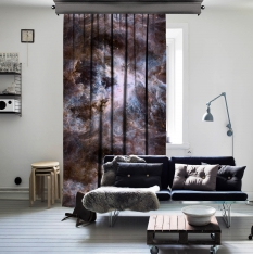 Arc Reactor of Nebula One Piece Curtain