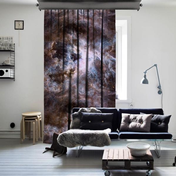 Nebula'nın Ark Reaktörü Tek Kanat Fon Perde