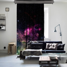 Space Dreams One Piece Curtain