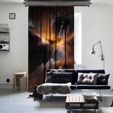 Sword Of Nebula One Piece Curtain