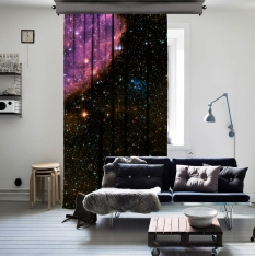 Interstellar Space One Piece Curtain