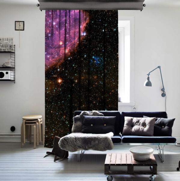 Yıldızlararası Uzay Tek Kanat Perde