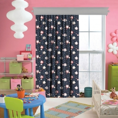 Sweet Owls Curtain