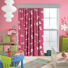Lovely Dog Zuzu Curtain