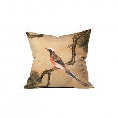 Japanese Birds and Flowers Cushion 4