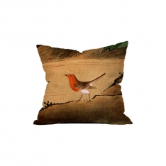 Japanese Birds and Flowers Cushion 6